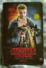 Stranger Things Season 1 Blue Ray 4k DVD 4 Disc Target VHS Poster