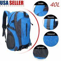 US! Travel Hiking Backpack Waterproof Outdoor Sport Camping Daypack Rucksack Bag