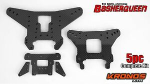 Basherqueen Carbon Fiber Complete Kit Team Corally Kronos XTR (5 pc)