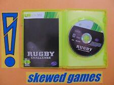 Jonah Lomu Rugby Challenge - cib - XBox 360 Microsoft
