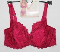 M&S ADORED PEONY LACE COLLECTION UNDERWIRED FULL CUP BALCONY BRA NON PADDED BNWT