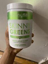 SkinnyFit SKINNY GREENS Juice Superfood Powder Green Apple 30 Servings Fit