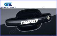 1 SET (4 stück) - FIAT LOGO - Türgriff  Auto Aufkleber - Car Sticker - Decal !