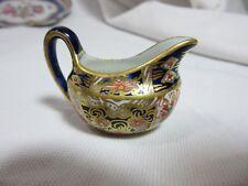 Tiny Antique Royal Crown Derby Miniature Imari Cream Pitcher Creamer Toy 2451