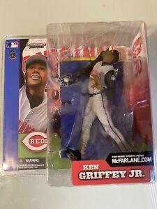 KEN GRIFFEY JR 2002 McFarlane MLB Sportspicks Series 2 Cincinnati Reds MLB NIB