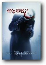"""The Dark Knight Movie: Joker 'Why So Serious' Wall Poster 24"""" x 36"""" (Rolled)"""