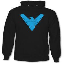 Nightwing - Batman para Hombre Inspirado Sudadera con Capucha Noche Ala