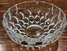 "BEYER Bleikristall 24% Lead Crystal 8"" SERVING BOWL Holiday Nur Candy Dish NEW"