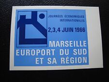 FRANCE - carte 4/6/1966 (journees economiques internationales) (cy97) french