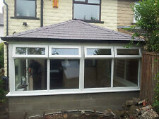 3m x 3m uPVC Edwardian Conservatory with a tiled solid roof Supplied & Fitted