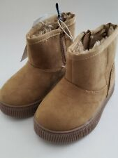 NWT Toddler Girls Cat & Jack ~Arias~ Sherpa Lined Ankle Boots Cat and Jack Sz 7