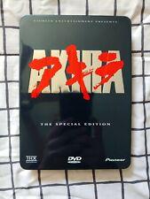 ✅ AKIRA DVD RARE OOP 2 DISC STEELBOOK SPECIAL EDITION THX PIONEER 1988 ANIME