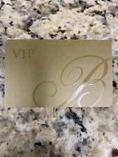 2019 The Bellagio Vip Room Key Las Vegas, Nv Vip Room Key Gold