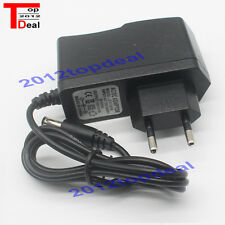 EU Plug Adapter AC 100-240V To DC 12V 1A Power Supply For 3528 5050 Strip LED