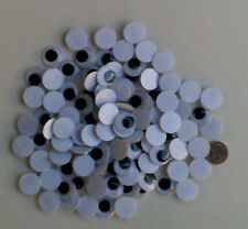 100 x 18mm Googly Eyes Craft Joggle Scrapbooking 100pcs 50 pairs FREE POSTAGE