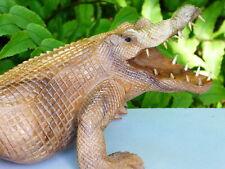More details for wooden crocodile alligator hand carved multi listing choose your croc!!!!!