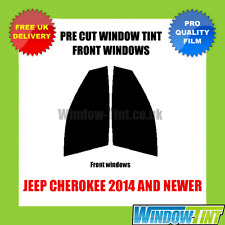 JEEP CHEROKEE 2014+ FRONT PRE CUT WINDOW TINT