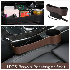 Multifunction Leather Right Seat Crevice Storage Box Car Interior Accessories