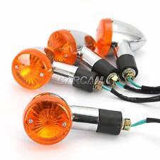 4x Bullet Turn Signals Lights For Yamaha Virago XV 250 500 535 700 750 920 1100
