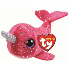 Ty Beanie Babies 41259 Teeny Tys Nelly the Pink Narwhal