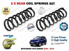FOR MITSUBISHI OUTLANDER 2.0 2.2 DID 2.4i 4X4 2006-2012 NEW 2X COIL SPRINGS SET