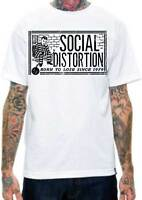 58c2123d SOCIAL DISTORTION Ball N Chain T SHIRT S-M-L-XL-2XL Brand New Official