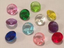 10mm Medium Edible Sugar Diamonds Wedding Cake Jewelry Decoration Pack of 16