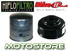 WHITE ZINC OIL FILTER & REMOVAL TOOL FITS BMW R1100 RT 1999-2001