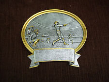 Softball resin oval plate plaque trophy small Pdu 56520Gs
