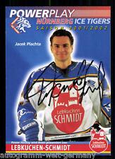 Jacek Plachta Ice Tigers TOP AK Orig.Sign+45089 + A 73396