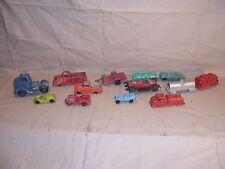 Vintage Lot Tootsietoy Toy Trucks Car Train Pickup Jeep Trailer