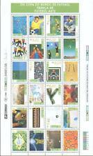 Brasilien 1998 Kleinbogen Fußball Football Weltmeisterschaft Mi.Nr.: 2850-73 **