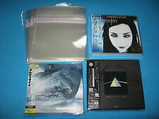High Quality OPP Resealable Plastic Bag 25 for 1.5 Sized Duo Case,Digipack Japan