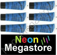 Stargazer 6 X Blue UV Reactive Neon  Body / Face Paint