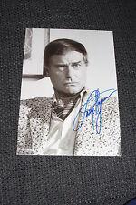 "LARRY HAGMAN (+ 12) signed Autogramm auf 18x24 cm ""BEZAUBERNDE JEANNIE"" InPerson"