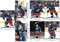 2018-19 Upperdeck Series 2 & Series 1 Team set COLUMBUS BLUE JACKETS (13 CARDS)
