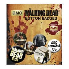 The Walking Dead - Button Badge Set (6 Badges) - GIFT