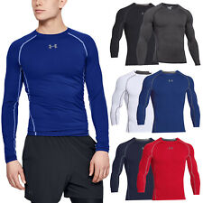 2020 Under Armour Mens Long Sleeve Compression Top Baselayer Shirt UA HeatGear