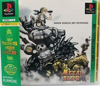 Playstation 1 PS1 Metal Slug X SNK Japan Version W/Spine Card US Seller