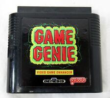 Sega Genesis Game Genie Game Enhancer Tested Working