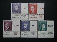 Germany Nazi 1942 Stamps MNH Veit Stoss Hans Durer Johann Schuch Joseph Elsner G
