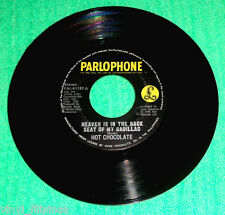 """PHILIPPINES:HOT CHOCOLATE - Heaven Is In The Backseat,7"""" 45 RPM,rare"""