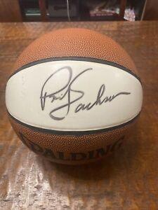 Phil Jackson Signed Basketball Psa Dna Coa Autographed Bulls Lakers