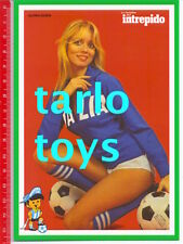 ITALIA - GLORIA GUIDA - Argentina 1978 mundial - postcard - cartolina calcio
