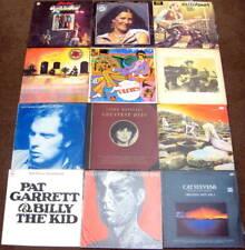 12 Bulk LP Records- Led Zeppelin; Rolling Stones; Bob Dylan; The Beatles ++