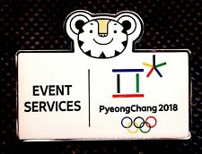 MASCOT EVENT SERVICES VOLUNTEER 2018 PYEONGCHANG OLYMPIC GAME PIN MEDIA 2020