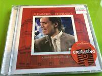 +2 BONUS TRACKS---> ALEJANDRO FERNANDEZ Confidencias Reales CD+DVD En Vivo Desde