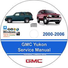 2007 gmc yukon service manual