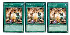 YUGIOH 3 x (3 cartes) échange ygld-deb28, Common, Mint, PLAYSET