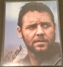"Russell Crowe ""Gladiator� Autograph Photo Coa"